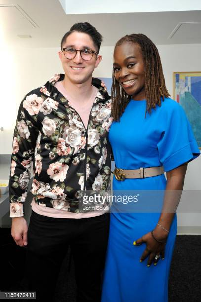 Andy Reimer and Dr Alfiee BrelandNoble attend SoulPancake's Four Conversations about One Thing at Hammer Museum on May 29 2019 in Los Angeles...