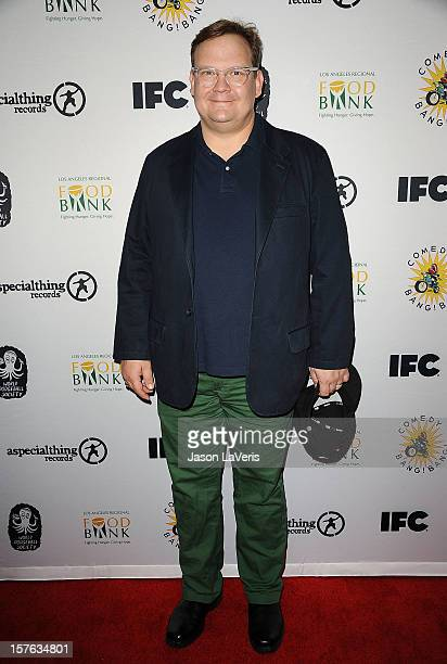 Andy Richter attends IFC's 2012 Comedy Bang Bang Nativity Pageant Holiday Comedy Show benefiting the LA Regional Food Bank at The Ricardo Montalban...