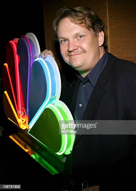Andy Richter during NBC's Winter 2007 TCA Press Tour All-Star Party - Red Carpet and Inside at Ritz-Carlton in Pasadena, California, United States.