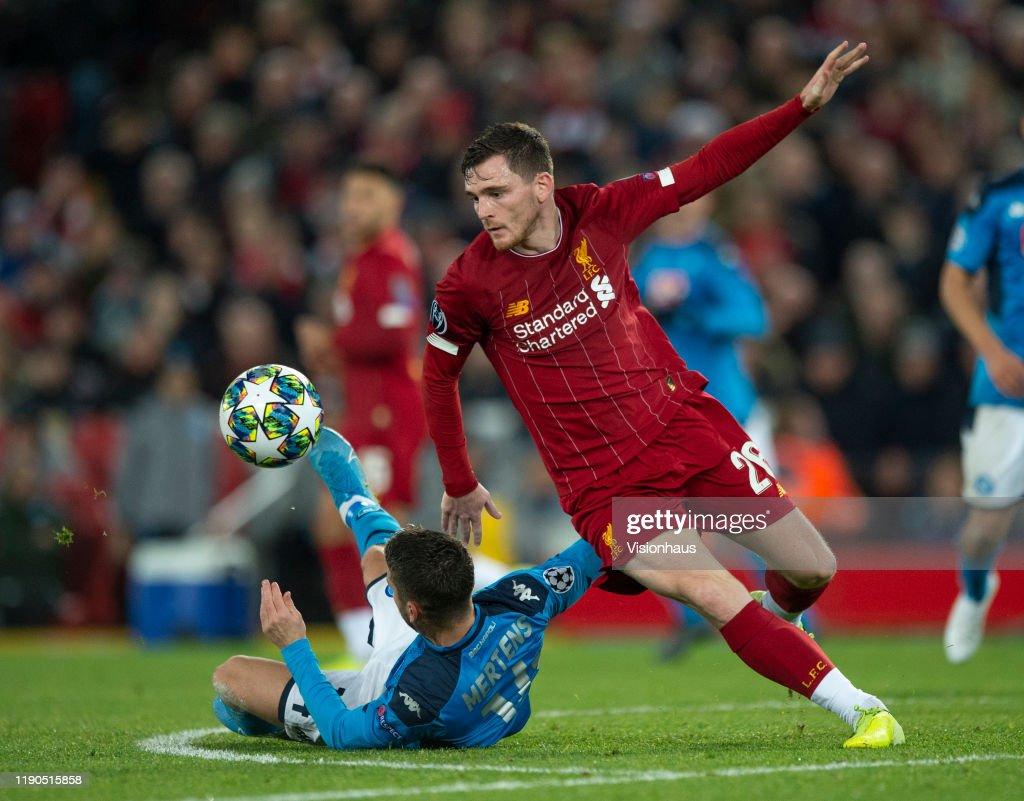Liverpool FC v SSC Napoli: Group E - UEFA Champions League : ニュース写真
