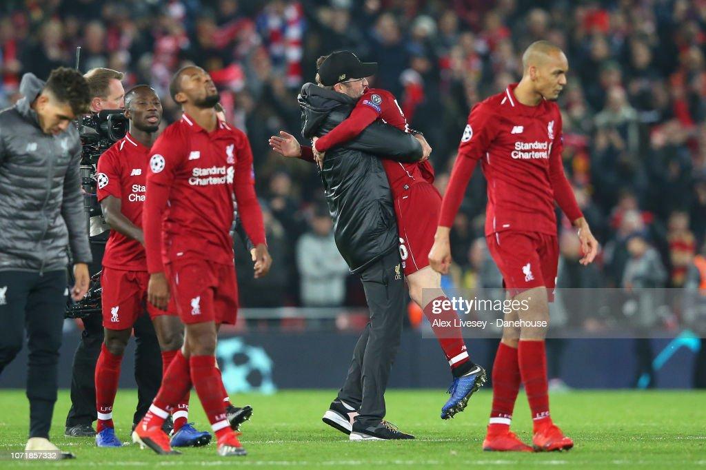 Liverpool v SSC Napoli - UEFA Champions League Group C : News Photo