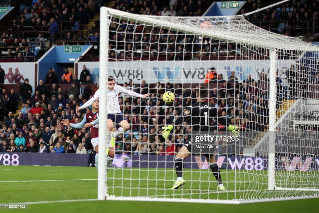 Aston Villa v Liverpool FC - Premier League : News Photo