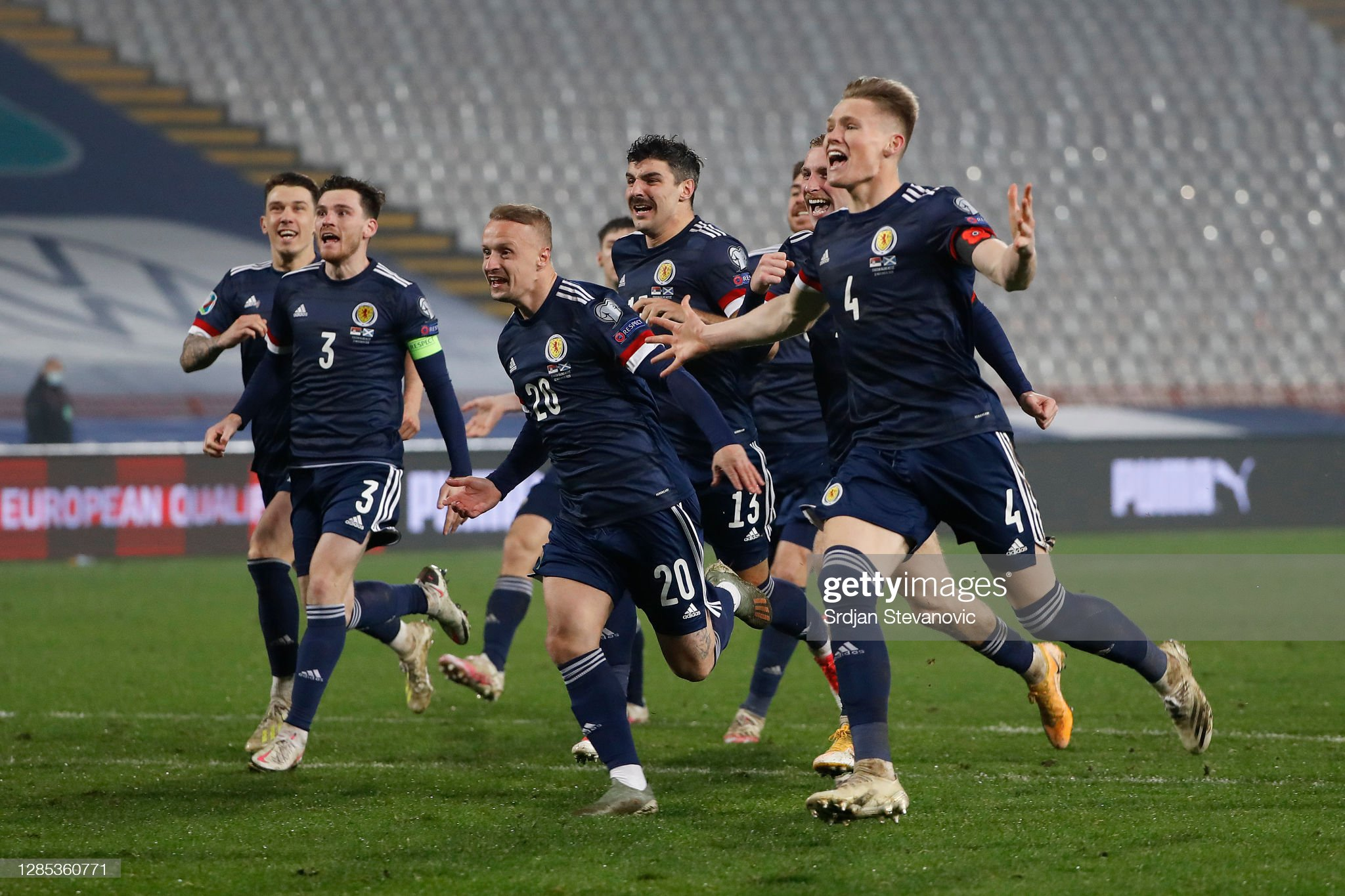 The home nations surge towards UEFA Euro 2021
