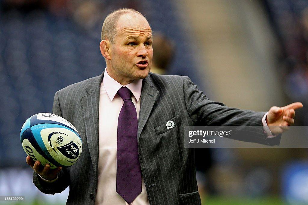 Scotland v England - RBS Six Nations : News Photo