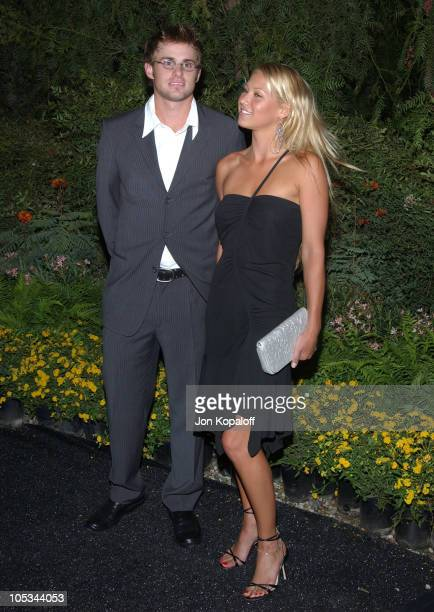 Andy Roddick and Anna Kournikova during 3rd Annual 'An Enduring Vision' Charity Gala at The Bluffs on Pelican Hill in Newport Beach California United...