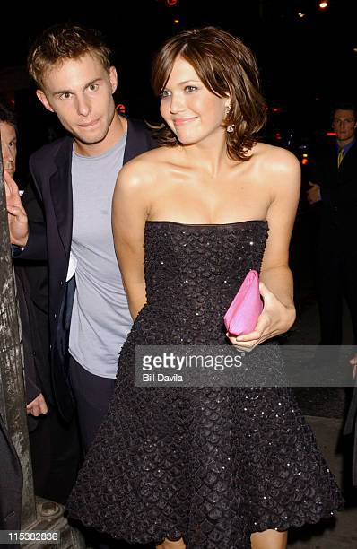Andy Roddick and Mandy Moore during 'How To Deal' New York Premiere After Party at Lobby in New York New York United States