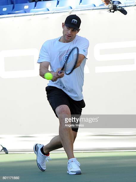 Andy Roddick attends the Maria Sharapova and Friends event presented By Porsche on December 12 2015 in Los Angeles California