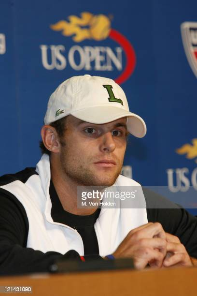Andy Roddick during Arthur Ashe Kids Day at the US Open - August 26, 2006 at USTA National Tennis Center in Flushing, New York, United States.