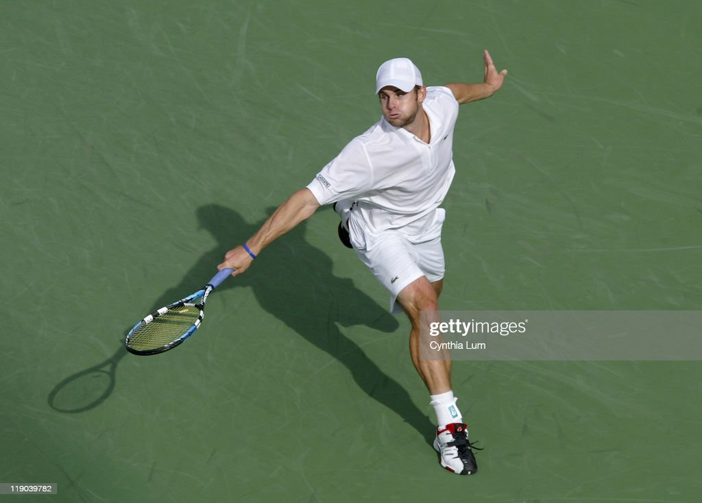 2006 US Open - Men's Singles - Fourth Round - Benjamin Becker vs Andy Roddick