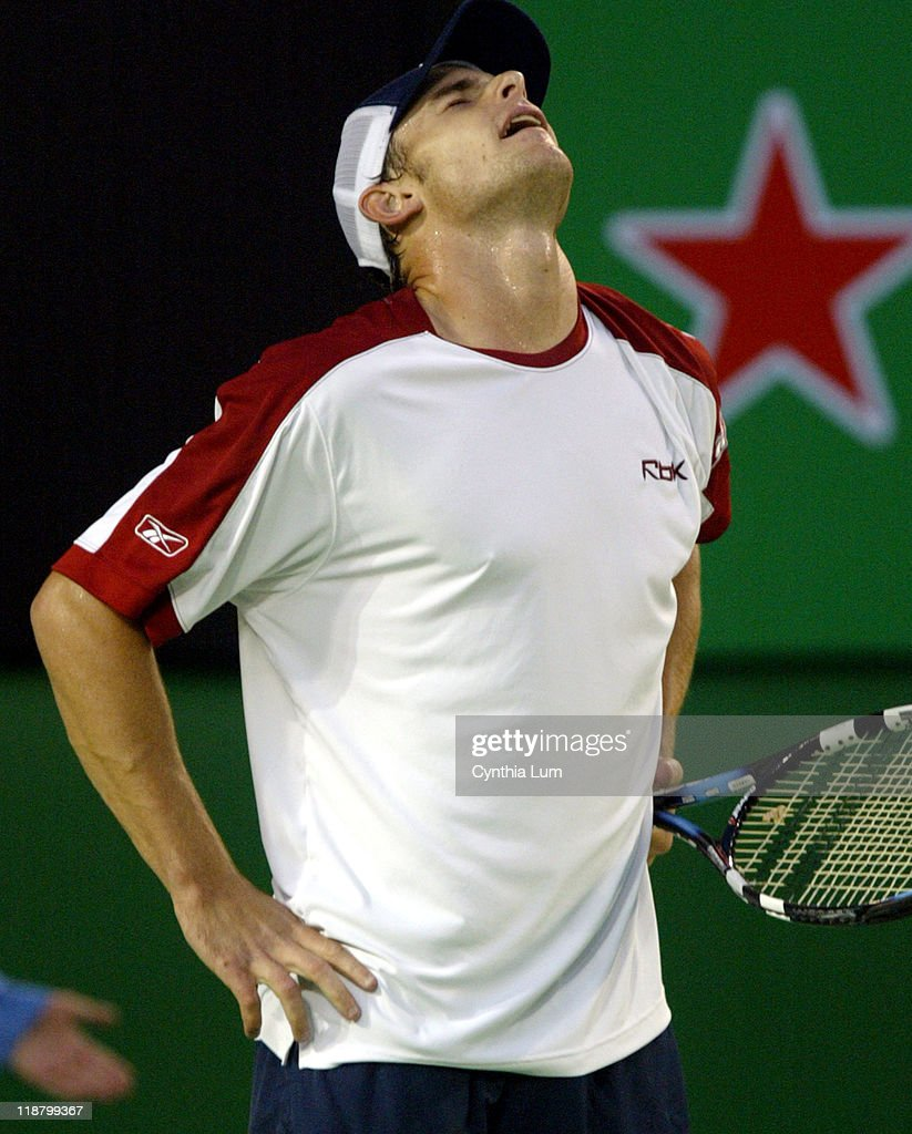 2004 Australian Open - Men's Singles - Quarter Final - Marat Safin  vs Andy