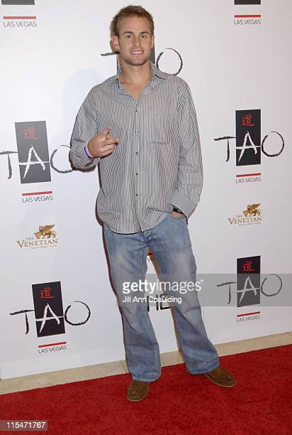 Andy Roddick during TAO Las Vegas First Anniversary Weekend Janet Jackson Album Release Party Red Carpet Arrivals at The Venetian Resort Hotel Casino...