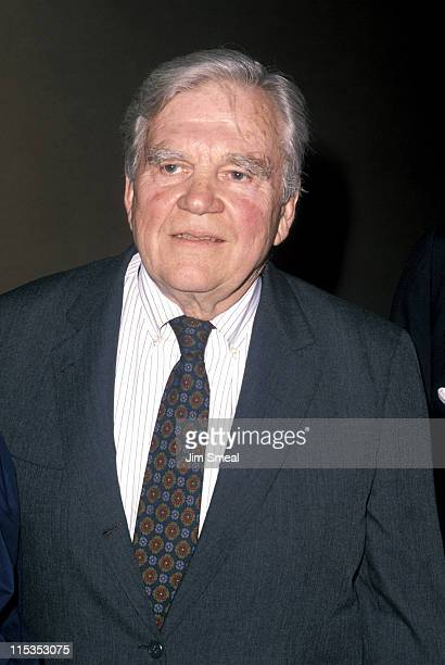 Andy Rooney during Constitutional Rights Foundation's 28th Annual Spring Dinner at Century Plaza Hotel in Los Angeles California United States