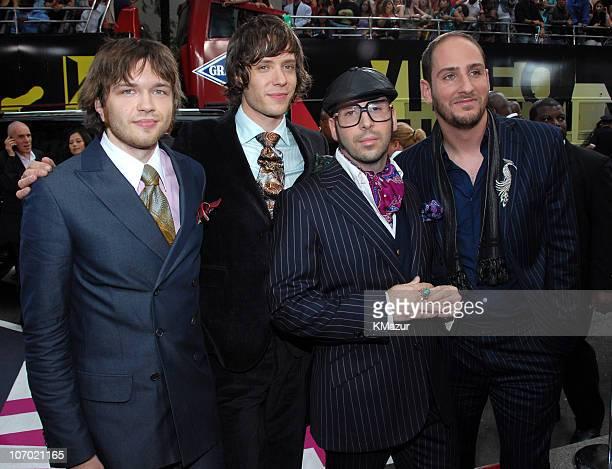 Andy Ross Damian Kulash Tim Nordwind and Dan Konopka of OK Go