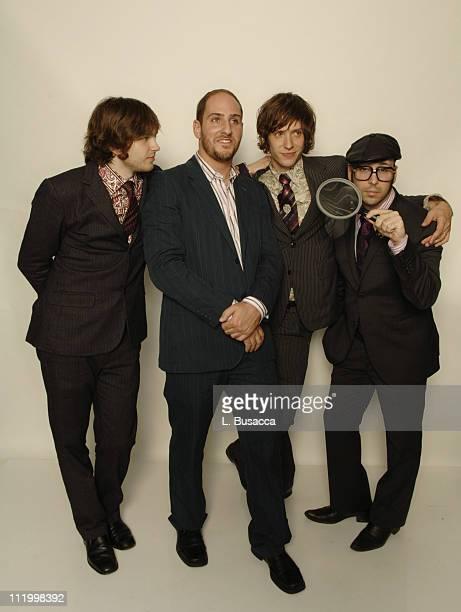 Andy Ross Dan Konopka Damian Kulash and Tim Nordwind of OK Go *EXCLUSIVE*