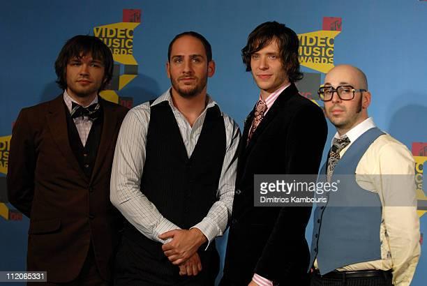 Andy Ross Dan Konopka Damian Kulash and Tim Nordwind of OK Go performers