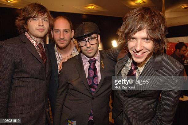 Andy Ross Dan Konopka Tim Nordwind and Damian Kulash of OK Go