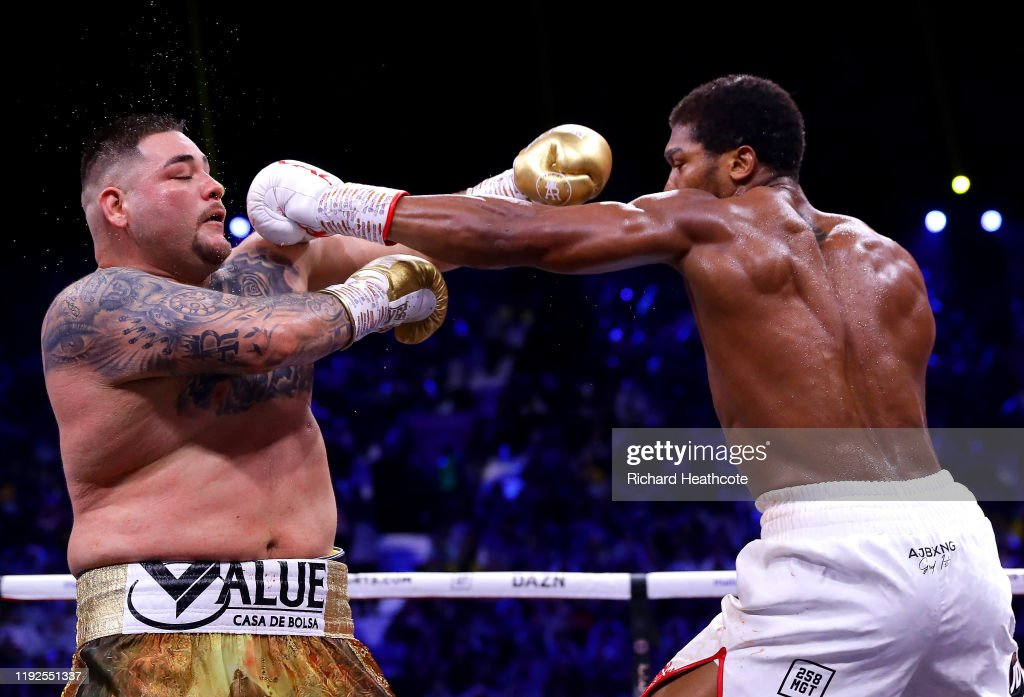 Andy Ruiz Jr v Anthony Joshua 2 - Clash on the Dunes, IBF, WBA, WBO & IBO World Heavyweight Title Fight : News Photo
