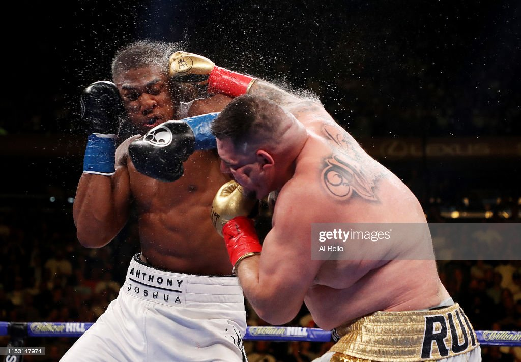 Anthony Joshua v Andy Ruiz Jr. : ニュース写真