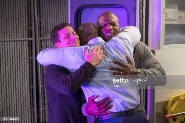 Andy Samberg and Terry Crews in the Bad Beat episode of BROOKLYN NINENINE airing Tuesday Oct 31 on FOX
