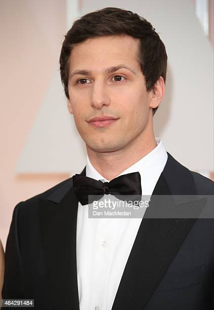 Andy Samberg arrives at the 87th Annual Academy Awards at Hollywood Highland Center on February 22 2015 in Los Angeles California