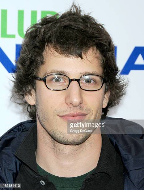 Andy Samberg arrives at the Opening Night of 'The PeeWee Herman Show' at Club Nokia at LA Live on January 20 2010 in Los Angeles California