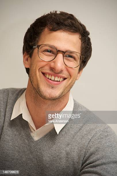 """Andy Samberg at the """"Celeste and Jesse Forever"""" Press Conference at the Four Seasons Hotel on June 22, 2012 in Beverly Hills, California."""