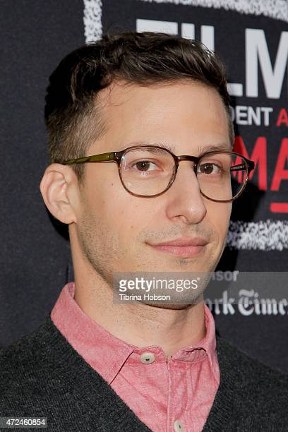 Andy Samberg attends Film Independent Presents An Evening with Brooklyn NineNine at LACMA on May 7 2015 in Los Angeles California