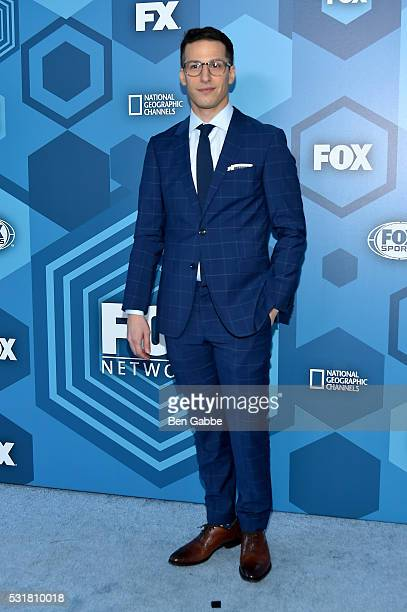 Andy Samberg attends FOX 2016 Upfront at Wollman Rink on May 16 2016 in New York City
