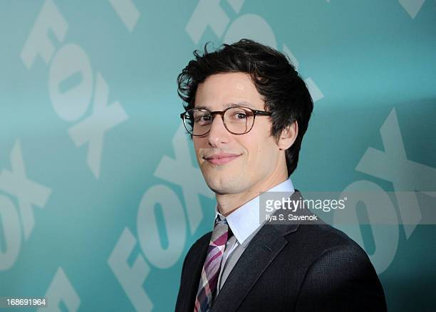 Andy Samberg attends FOX 2103 Programming Presentation PostParty at Wollman Rink Central Park on May 13 2013 in New York City