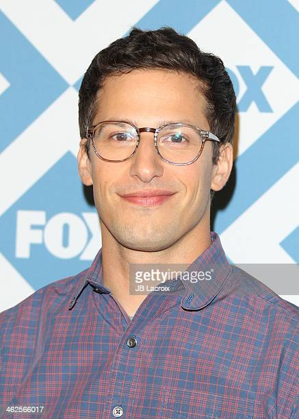 Andy Samberg attends the 2014 TCA Winter Press Tour FOX AllStar Party held at The Langham Huntington Hotel and Spa on January 13 2014 in Pasadena...