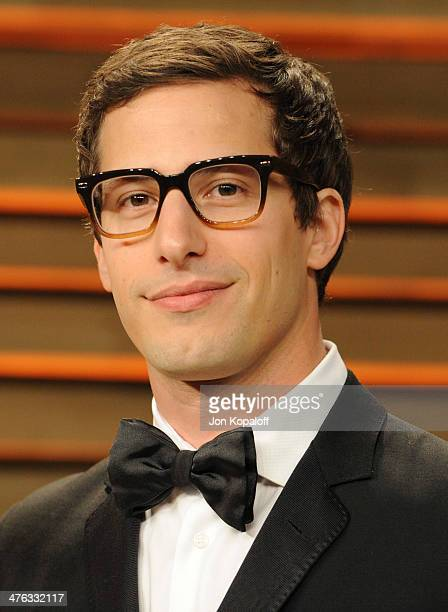 Andy Samberg attends the 2014 Vanity Fair Oscar Party hosted by Graydon Carter on March 2 2014 in West Hollywood California