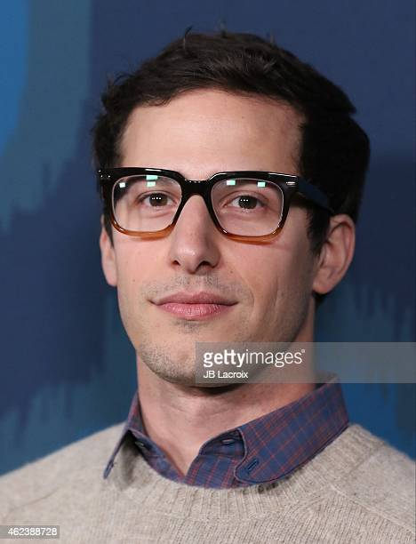 Andy Samberg attends the 2015 Fox AllStar Party at the Langham Hotel on January 17 2015 in Pasadena California