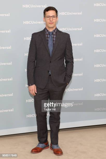 Andy Samberg attends the 2018 NBCUniversal Upfront Presentation at Rockefeller Center on May 14 2018 in New York City