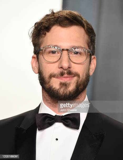 Andy Samberg attends the 2020 Vanity Fair Oscar Party hosted by Radhika Jones at Wallis Annenberg Center for the Performing Arts on February 09, 2020...