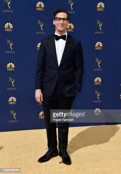 Andy Samberg attends the 70th Emmy Awards at Microsoft Theater on September 17 2018 in Los Angeles California