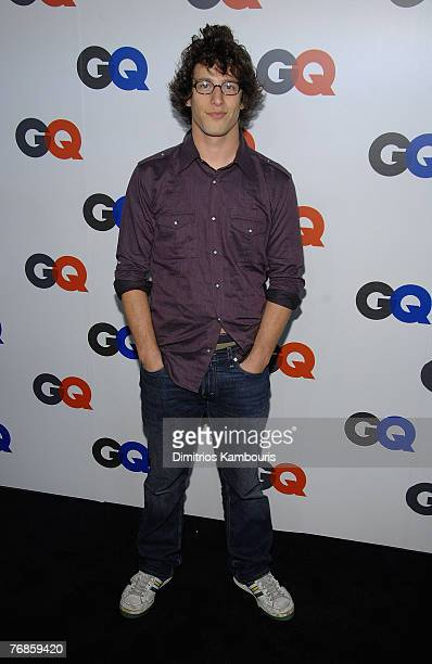 Andy Samberg attends the GQ Magazine 50th Anniversary Party at Cedar Lake on September 18 2007 in New York City