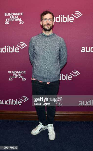 """Andy Samberg attends the """"Palm Springs"""" premiere party at Audible Speakeasy during the 2020 Sundance Film Festival on January 26, 2020 in Park City,..."""