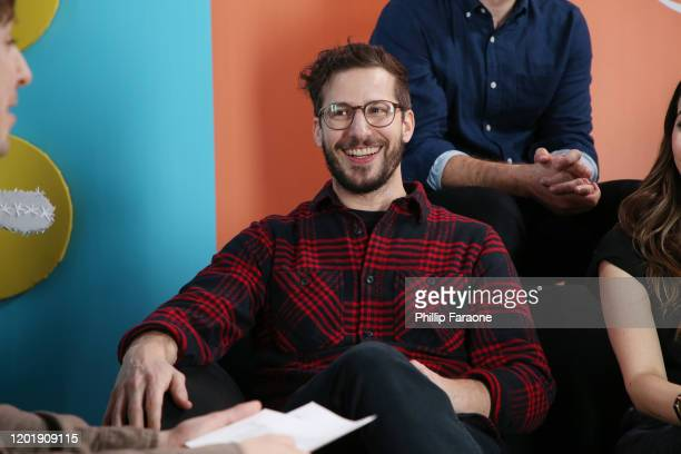 Andy Samberg attends The Vulture Spot presented by Amazon Fire TV 2020 at The Vulture Spot on January 25, 2020 in Park City, Utah.