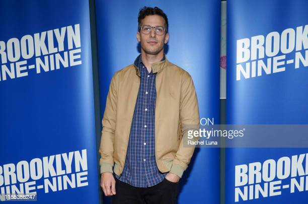 Andy Samberg attends Universal Television's Brooklyn NineNine FYC event at UCB Sunset Theater on June 11 2019 in Los Angeles California