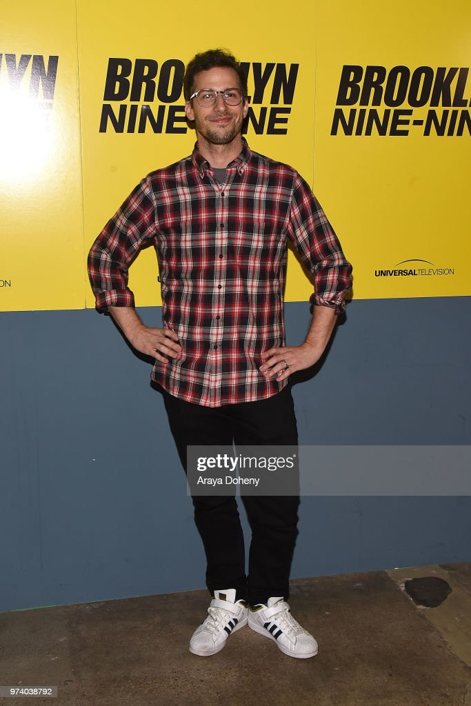 Andy Samberg attends Universal Television's FYC @ UCB 'Brooklyn Nine-Nine' at UCB Sunset Theater on June 13, 2018 in Los Angeles, California.