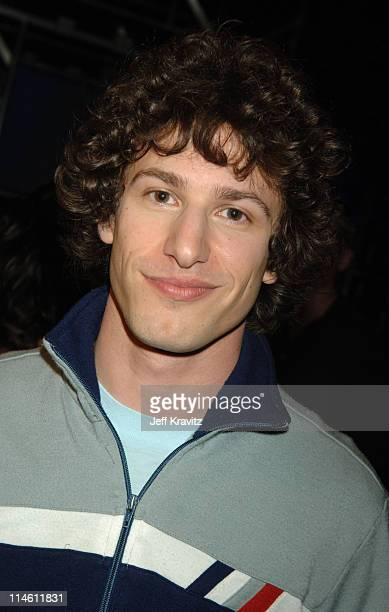 Andy Samberg during 2006 MTV Movie Awards - Backstage and Audience at Sony Studios in Culver City, California, United States.