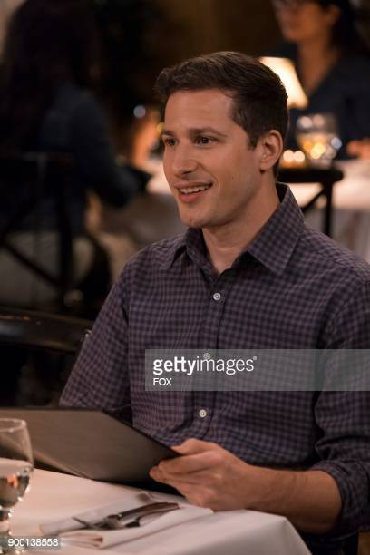 Andy Samberg in the Game Night Godfather special one hour episode of BROOKLYN NINENINE airing Tuesday Dec 12 on FOX