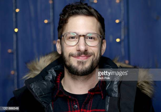 Andy Samberg of 'Palm Springs' attends the IMDb Studio at Acura Festival Village on location at the 2020 Sundance Film Festival – Day 2 on January...