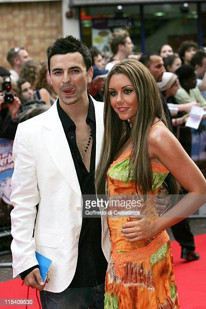 Andy Scott Lee and Michelle Heaton during 'Herbie Fully Loaded' London Premiere Arrivals at Vue West End in London Great Britain