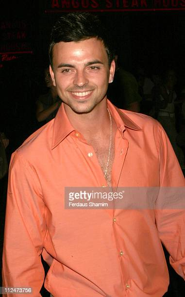Andy Scott Lee during Totally Scott Lee TV Preview Screening at The Penthouse in London Great Britain