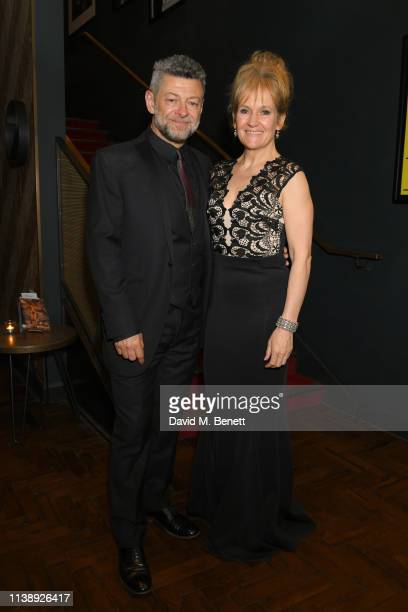 "Andy Serkis and Lorraine Ashbourne attend a special screening of ""Mowgli: Legend of Jungle"" hosted by Andy Serkis in aid of Best Beginnings at The..."