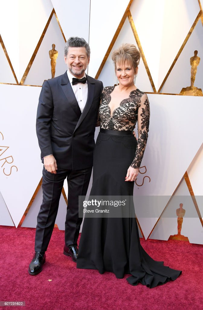 Andy Serkis and Lorraine Ashbourne attend the 90th Annual Academy Awards at Hollywood & Highland Center on March 4, 2018 in Hollywood, California.