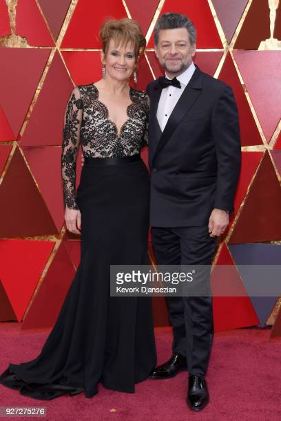 Andy Serkis and Lorraine Ashbourne attends the 90th Annual Academy Awards at Hollywood Highland Center on March 4 2018 in Hollywood California