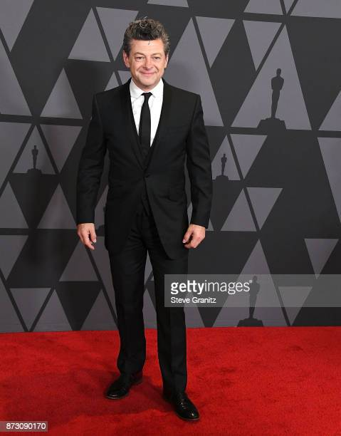 Andy Serkis arrives at the Academy Of Motion Picture Arts And Sciences' 9th Annual Governors Awards at The Ray Dolby Ballroom at Hollywood Highland...