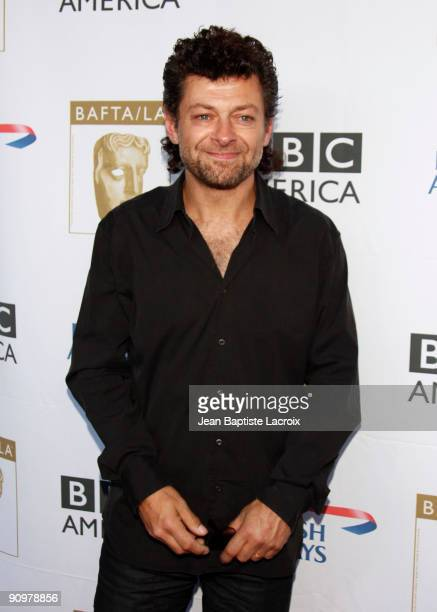 Andy Serkis arrives at the BAFTA LA's 2009 Primetime Emmy Awards TV Tea Party at InterContinental Hotel on September 19 2009 in Century City...